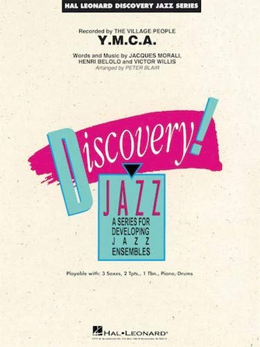 - Hal Leonard Y.M.C.A.-Discovery Jazz -Score & Parts