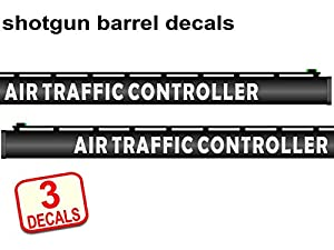Amazoncom  Shotgun Barrel Decal Sticker AIR TRAFFIC CONTROLLER - Custom shotgun barrel stickers