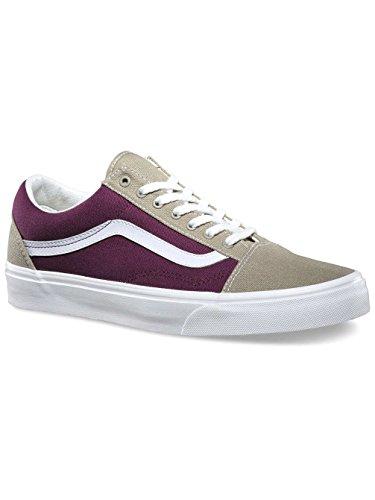 Vans Herren Sneaker Violett - Viola / Grigio Kaki / Bianco