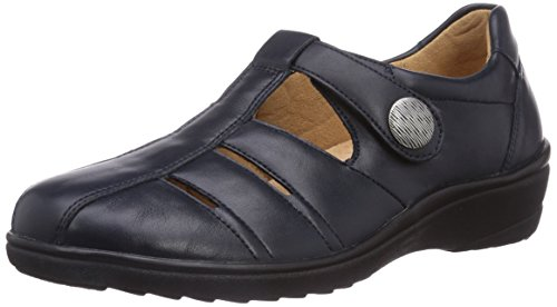 Ganter Sensitiv Helga, Weite H, Slip On Donna Blu (Ozean 3000)