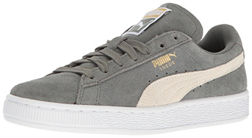 Camoscio classico donna WN'S Fashion Sneaker, Agave Green-Whisper White, 9.5 M US
