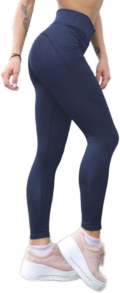 GP-10 Sporthose Fitnesshose Training Laufhose Sport Tights Hohe Taille Yogahose Pau1Hami1ton Damen Leggings