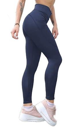 proporcionar una gran selección de valor por dinero comparar el precio Pau1Hami1ton Leggins Mujer, Mallas Fitness Push Up Pantalones Deporte  Running Yoga GP-10