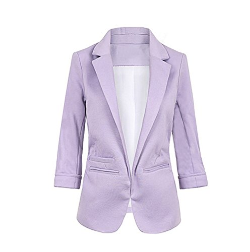 lokouo-womens-casual-work-office-open-front-blazer-jacket-sleeve-suit-slimx-smallpurple
