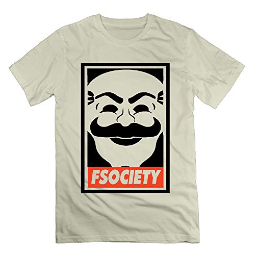 - HIUYHIOJXN Fsociety Robot Shirts for Men