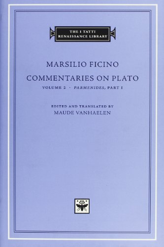Commentaries-on-Plato-Volume-2-iParmenidesi-Part-I-The-I-Tatti-Renaissance-Library