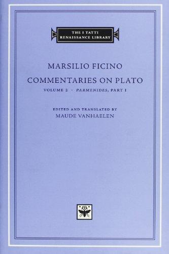 Commentaries-on-Plato-Volume-2-iParmenidesi-Part-I-The-I-Tatti-Renaissance-Library