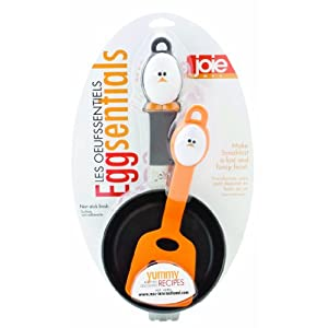 HIC Harold Import Co. 50623-HIC (1, A) Joie MSc Egg Spatula Fry Pan Set Home Decor Products