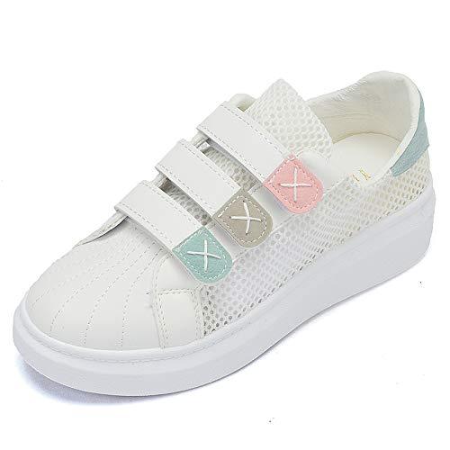 Zapatos nbsp;Zapatos six Pequeños Magia WFCAYDHN Mujeres sual Planos Moda Jokers Thirty Ca Deportivos Zapatos Pegatinas Zapatos Blancos gqpfp0w