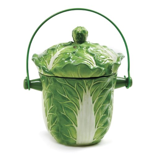 Norpro Ceramic Lettuce Compost Keeper
