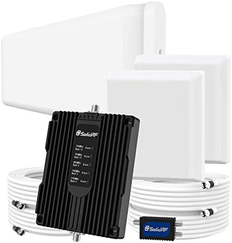 SolidRF Cell Phone Booster for Home Up t
