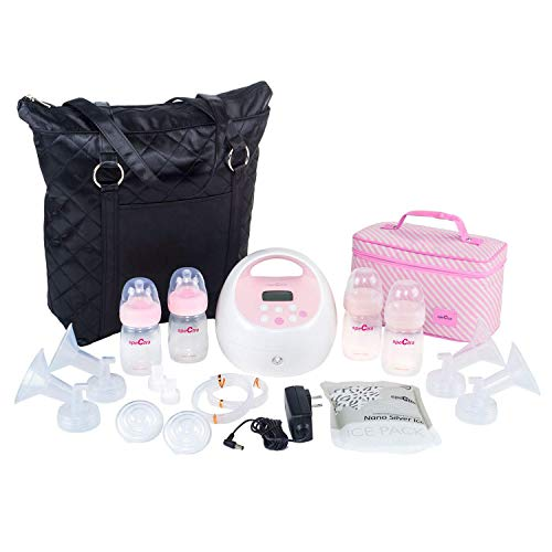 Spectra Baby USA – S2Plus Electric Breast Pump with Black Tote and Cooler