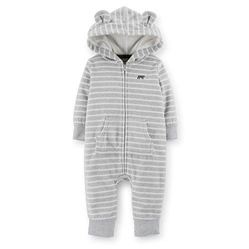 Carter's Little Boys Micro fleece Jumpsuit - 24 months