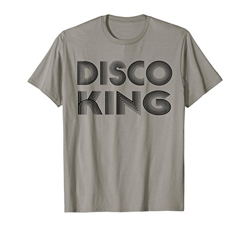 Disco King 1970s Retro Vintage 70s Dance Party Gift T-Shirts -