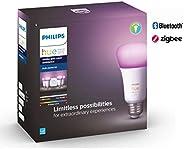 Philips Hue White and Color Ambience - Kit de inicio con puente y 4 lámparas blancos y de color, LED, 10 W, A1