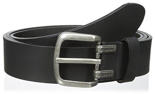 Dickies Men's  Big - Tall 1 9/16 in. Logo Screw Buckle Belt,Black,3X (Mens Belt Dickies)