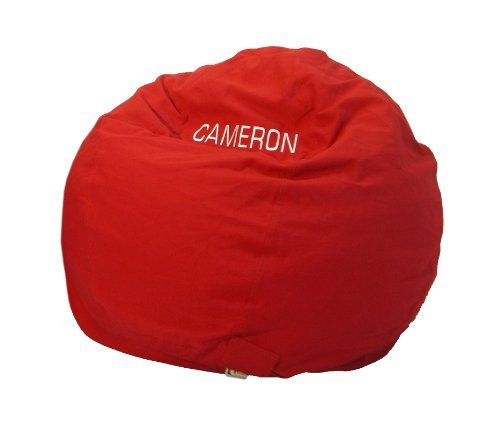 (Bean Bag Chair Kid Size Personalized Embroidered Comfy Bean -)