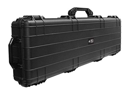 Ibex Cases 4500 (Black) Hard Protective Long Case with Foam - Watertight Camera Case for Electronics, Equipment, Tools