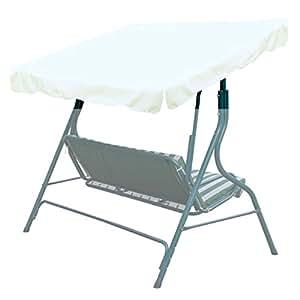 """NUEVO exterior 65""""x45Swing Canopy–Porche de repuesto cubierta superior asiento Muebles"""