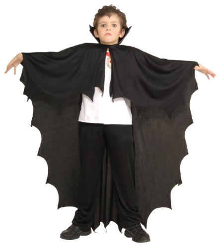 Rubie's Costume Co Vampire Cape Child Costume, Black, One -