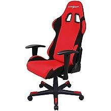 DXRacer Formula Series DOH/FD01/RN Office Chair Gaming Chair Ergonomic Computer Chair eSports Desk Chair Executive Chair Furniture with Free Cushions (Black) (Red/Black)