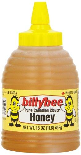 Carrot Cake Glaze - Billy Bee Squeeze Beehive Liquid Honey, 16 oz (Case of 6)