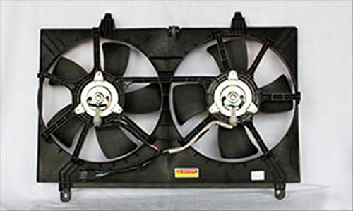 Ensemble de ventilateur de refroidissement de radiateur Infiniti FX de remplacement dorigine numéro Partslink IN3115104