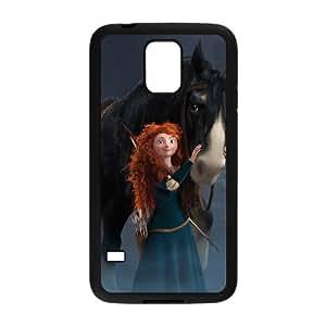 Brave Samsung Galaxy S5 Cell Phone Case Black K062887