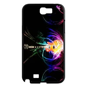 JenneySt Phone CaseLove Music Love Guitar For Samsung Galaxy Note 2 Case -CASE-9