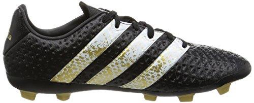 adidas Ace 16.4 Fxg J, Botas de Fútbol Unisex Niños Negro (Core Black/ftwr White/gold Met.)