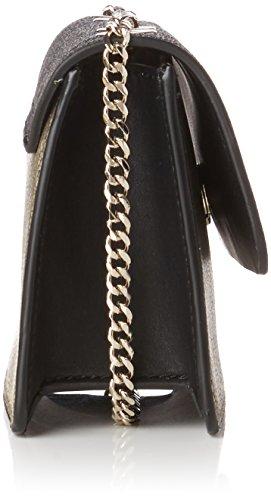 Guess dam Haute Romance Flap handväska hållare flera färger (guld multi) One Size