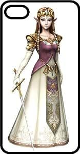 Princess Zelda Black Rubber Case for Apple iPhone 5 or iPhone 5s