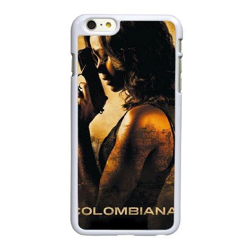 Q9P06 Colombiana Haute Résolution Affiche R3U4WK coque iPhone 6 4.7 pouces Cas de couverture de téléphone portable coque blanche KK8LQR3OE