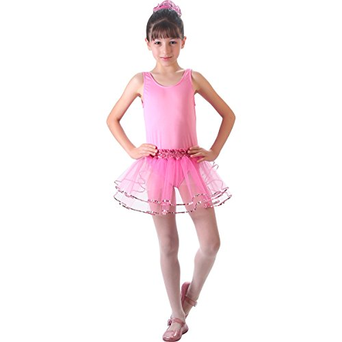 Bailarina Basic Pop Infantil Sulamericana Fantasias Rosa P 3/4 Anos