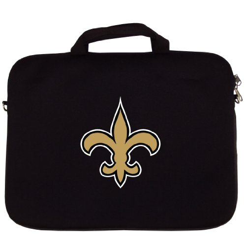 Siskiyou Sport FNLT150 New Orleans Saints Laptop Bag