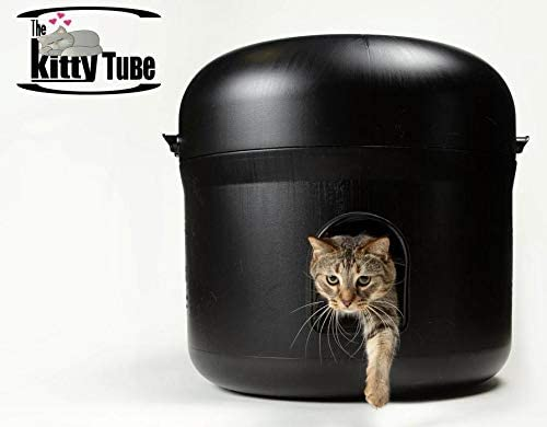 Kitty Tube The Outdoor Cat House w Pet Pillow Double Insulated Liner