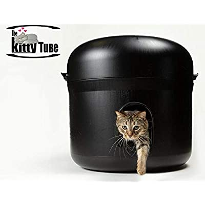 Image of Kitty Tube The Outdoor Cat House w/Pet Pillow & Double Insulated Liner Home and Kitchen