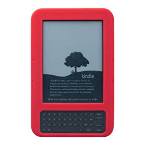 Marware SportGrip Fitted Silicone Kindle Case (Fits Kindle Keyboard), Red