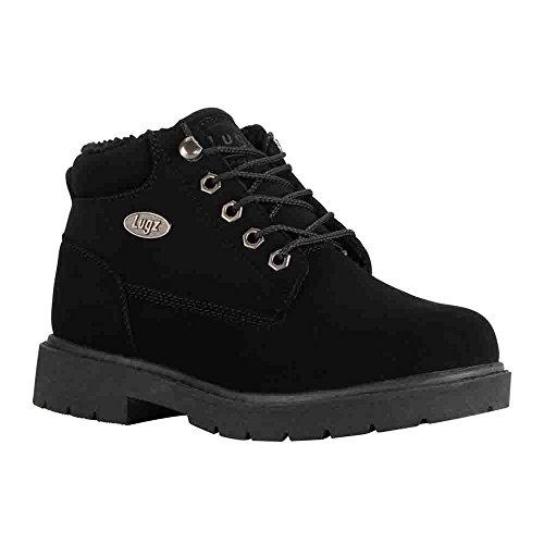 Lugz Women's Drifter Fleece LX Fashion Boot, Black Durabrush, 5.5 M US