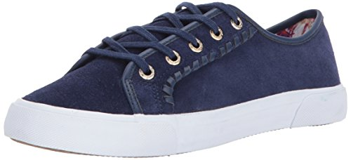 Jack Rogers Womens Carter Carter Midnight Waterproof Suede