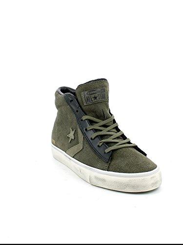 Verde Zapatillas 090 Black Leather Mid Adulto Tarmac Converse Distressed Turtledove Pro Vulc Unisex Lifestyle OzwOYqCg