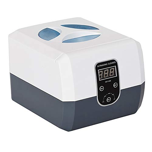XDGG Professional Ultrasonic Cleaner 1.3L with Timer for Jewelry Razor Blades Denture Nail Tools Combs and More