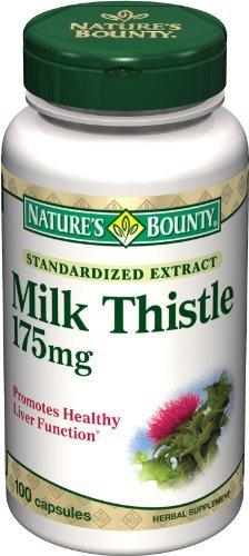 Nature Bounty Chardon-Marie 175 mg, 100 Capsules