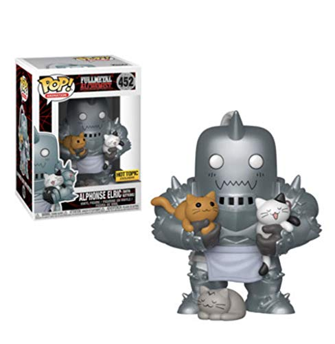 Funko Pop Fullmetal Alchemist Alphonse and Kitty Collection Figura Mun