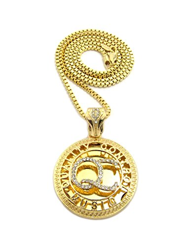QUALITY CONTROLL PENDANT 2 5mm NECKLACE product image