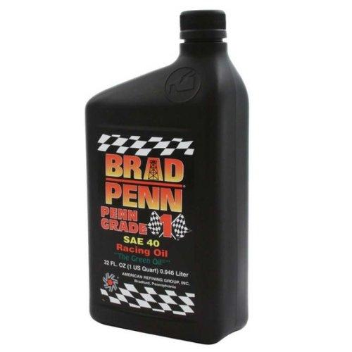 Brad Penn Oil 009-7140S SAE 40W Racing Motor Oil - 1 Quart Bottle High Strength 1 Qt Bottles