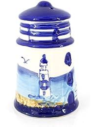 Buy 3.6 Inches Nautical Beach View Ceramic Home Decorative Salt,pepper Shaker (1) reviews