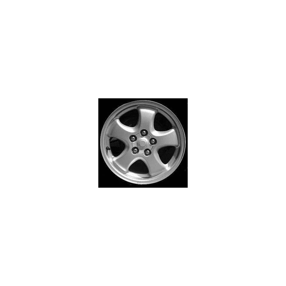 04 05 FORD TAURUS ALLOY WHEEL RIM 16 INCH, Diameter 16, Width 6, Lug 5 (5 SPOKE), BRIGHT SILVER, 1 Piece Only, Remanufactured , (center cap not included) (2004 04 2005 05) ALY99110U20