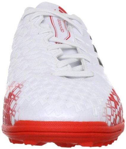 adidas Performance Kinder-Unisex P Absolado LZ TRX TF J Fußballschuhe (weiß / rot)