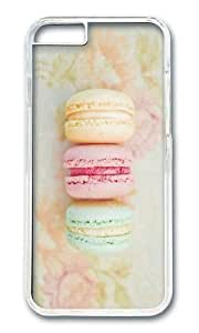 Iphone 6 Case Colorful Macaroons Theme Clear PC Hard Case For Apple Iphone 6 4.7 Inch